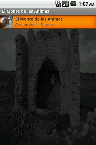 El Monte de las Ánimas - Audio