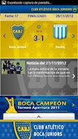 Screenshot of Boca Juniors Oficial