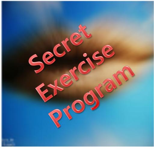 Secret Excercise Program LOGO-APP點子