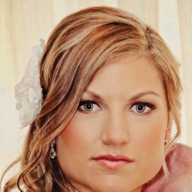 Danielle by Alan Evans - Wedding Bride ( wedding photography, yarra valley wedding photographer, melbourne wedding photographer, wedding day, wedding, aj photography, bride profile, bride )