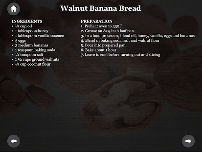 Paleo Diet Nuts recipes - screenshot