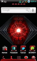 Screenshot of Go Launcher/Apex Razr theme