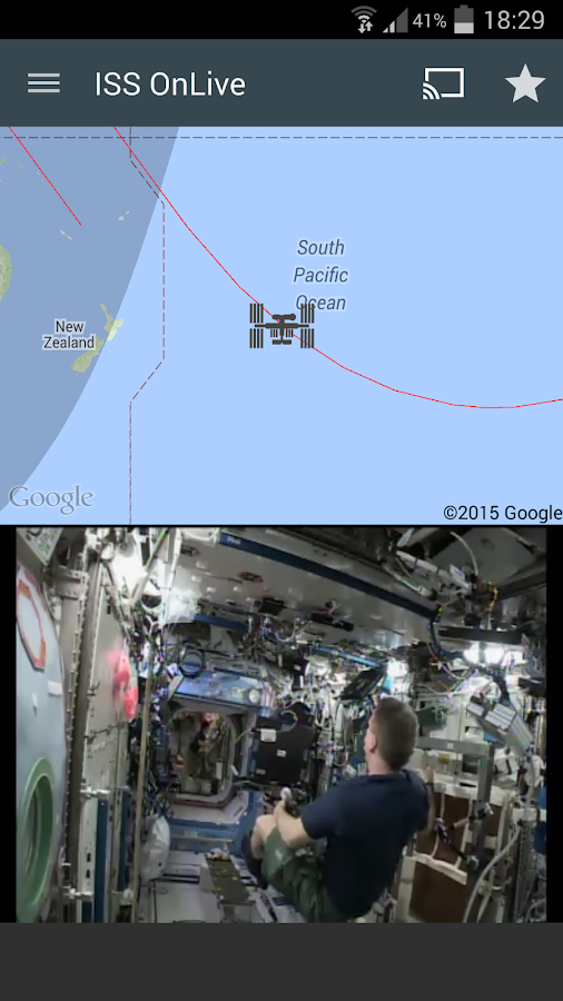 ISS onLive: Live Earth cameras Screenshot 18