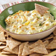 Hot Artichoke and Cheese Dip