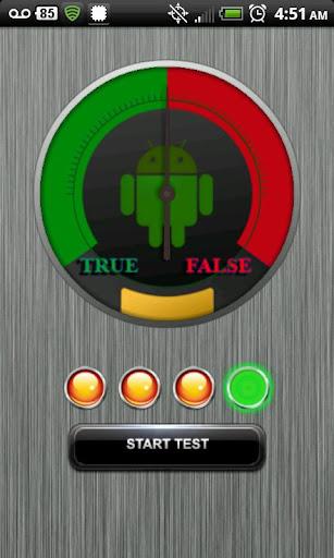 Lie Detector Test FREE