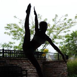 Shadow Dance by Sarah Graff - Sports & Fitness Other Sports ( shadow dance flex summer girl )