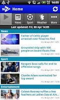 Screenshot of STV News