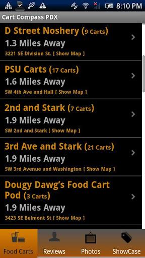 Food Cart Compass Portland