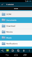 Screenshot of Discoverer(Linda File Manager)