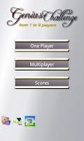 Screenshot of Genius Trivia 1 to 8 player