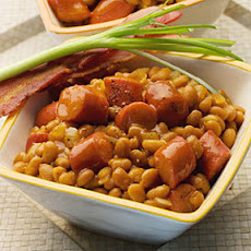 Baked Beans with Frankfurters