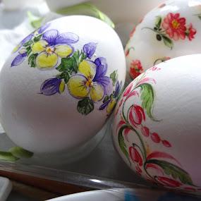PAINTED:KRISZTINA SCHUSZTER by Pal Mori - Public Holidays Easter ( painted:krisztina schuszter )