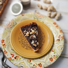 Maple Peanut Butter Chocolate Tart