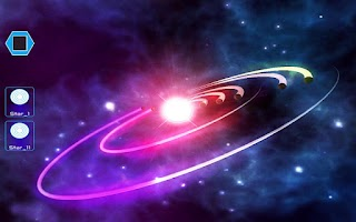Screenshot of DJ Space: Free Music Game