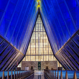 Air Force Academy Chapel by Penny McWhirt - Buildings & Architecture Places of Worship ( colorado springs, church, colorado, architecture, chapel, air force academy, places of worship,  )
