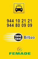 Screenshot of TAXI BILBAO