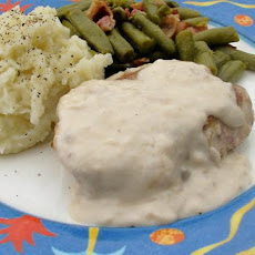 Pork Chops Smothered in Mushroom Gravy