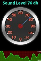 Screenshot of Sound Meter