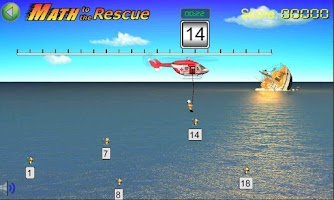 Screenshot of Math to the Rescue Game (Lite)