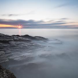 Alba a Punta Bianca #3 (serie) by Marco Andreini - Landscapes Sunsets & Sunrises ( alba, winter, ameglia, sea, seascape, sunrise, italy )