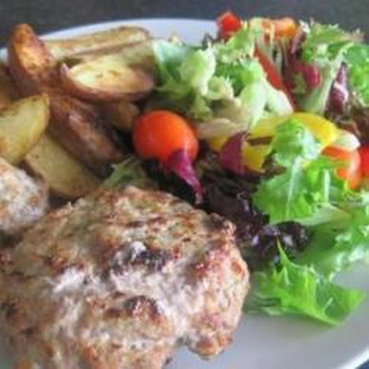 Pork, Apple And Rosemary Burgers Recipe | Yummly