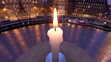 Screenshot of Unity 3D Candle
