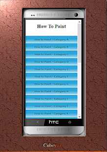 How To Paint - screenshot