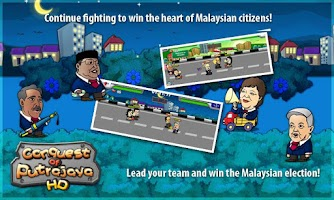 Screenshot of Conquest of Putrajaya HD