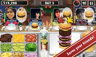Screenshot of Burger Friends - Stand Maker