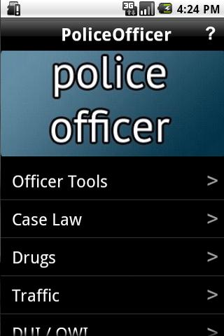 Police Officer's Tool