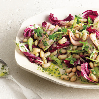 White Bean and Tuna Salad with Radicchio