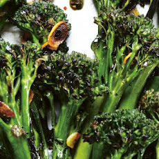 Charred Broccolini With Garlic-Caper Sauce Recipe