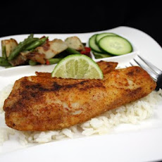 Pan-Fried Cumin-Chile Crusted Fish