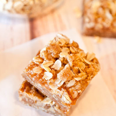 Caramel Peanut Butter & Jelly & Bars (Gluten-Free, Vegan; See Below)