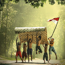 Gotong Royong by Agoes Photoarts - Digital Art People