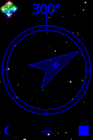 Screenshot of Night Compass Pro