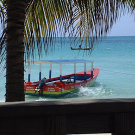 LOOKS LIKE AN ADD FOR JAMAICA DONT IT MON by Dixie Abernathy - Transportation Boats
