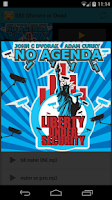 Screenshot of No Agendroid - No Agenda App