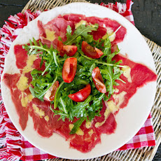 Easy Beef Carpaccio with Arugula