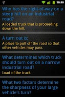 Screenshot of Truck Driving Test Class 3 BC