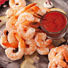 Holiday Shrimp on Ice