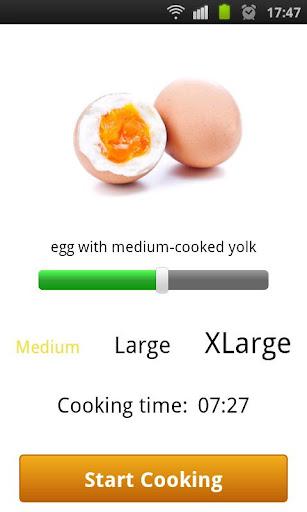 完全煮熟的蛋:
