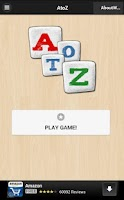 Screenshot of AtoZ Puzzle Game