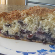 Sue B's Blueberry Buckle