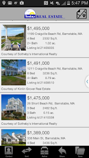 Today Real Estate Cape Cod - screenshot