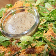 Bacon and Cheese Salad With Honey Dressing