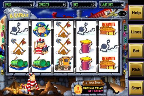 アルカトラズカジノのスロットゲームを無料で