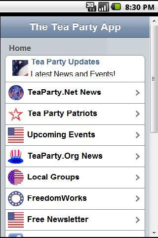 Ultimate Tea Party App