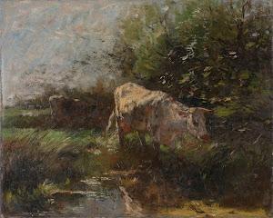 RIJKS: Willem Maris: painting 1910