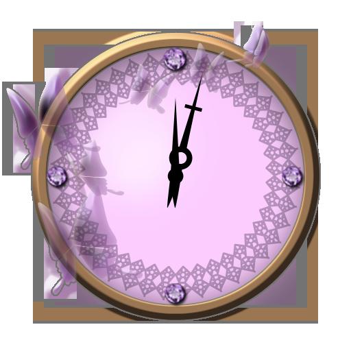 クリスタルアナログ時計ウィジェット 個人化 App LOGO-硬是要APP